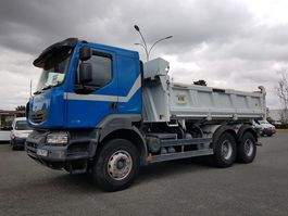 kipper vrachtwagen > 7.5 t Renault KERAX 430dxi.26 6x4 OPTIDRIVER 2012