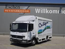verkoop opbouw vrachtwagen Mercedes-Benz 815 L, Atego, Rolltorkoffer, 3 Sitzplätze, Klima, Blatt/Luft 2005