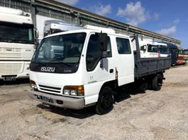 kipper vrachtwagen > 7.5 t Isuzu NPR Double Cabin 1997