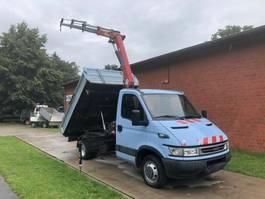 kipper bedrijfswagen Iveco Daily 50C14 NL 2.020 kg HMF 340 7,1m - 435 kg