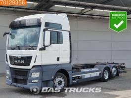wissellaadbaksysteem vrachtwagen MAN TGX 26.440  6X2 XXL Intarder Liftachse Navi 2x Tanks 2014