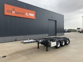 container chassis oplegger Lag 20FT/3-Achsen, Leergewicht: 3.160kg, Scheibebremsen, ADR (EXII, EXII, FL... 2015