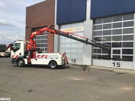 takelwagen-bergingswagen-vrachtwagen DAF FA 55 LF 180 Falkom Copma 23 ton/meter laadkraan 2012