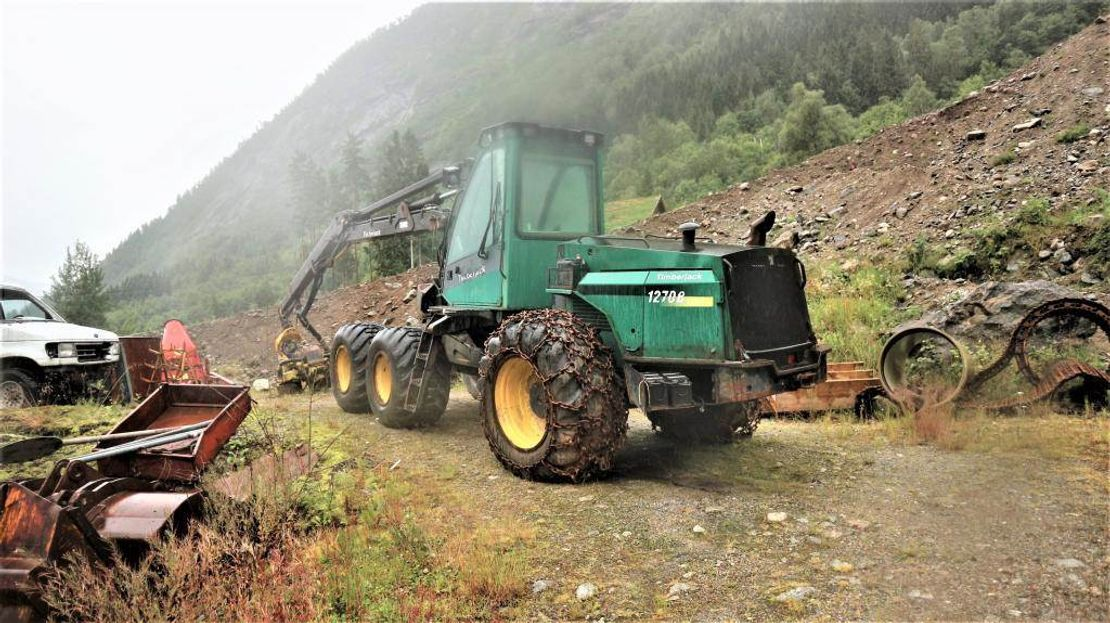 overige oogstmachines Diversen Timberjack 1270 B 1999