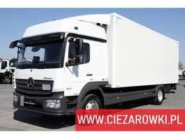 bakwagen vrachtwagen > 7.5 t Mercedes Benz Atego 1527 L / e6 / Junge body 18 EPAL / lift palfinger 1,500kg 2018