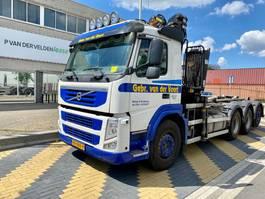 containersysteem vrachtwagen Volvo FM 500 EEV 8x4 Kraan/haak 2012