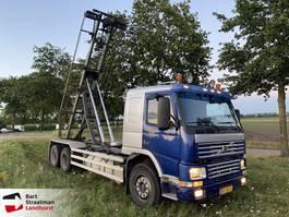containersysteem vrachtwagen Volvo FM12 420 6x2 steelsuspension manual 2000