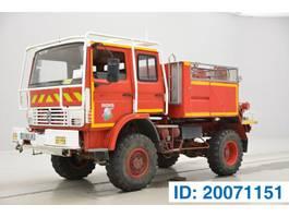 brandweerwagen vrachtwagen Renault JP1A12 1991