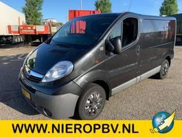 gesloten bestelwagen Opel VIVARO airco 2013