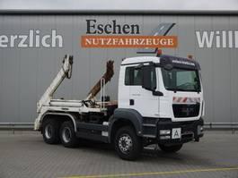 containersysteem vrachtwagen MAN TGS 26.400, 6x4, Meiller AK 16 Tele, Schaltgetriebe, Blatt 2009