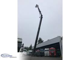 autohoogwerker vrachtwagen Terex 40 Meter 6x4, Steel springs, Ex army 1990