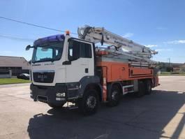 betonpomp vrachtwagen MAN 35.440 8x4 - M38-4 PUTZMEISTER CONCRETE PUMP 2009