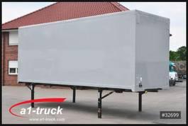 gesloten wissellaadbak Spier WB 7,45 Koffer, Rolltisch, klapp Boden, 2850 Innenhöhe 1990
