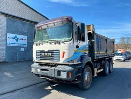 kipper vrachtwagen > 7.5 t MAN F2000 33.414 6x4 Big Axel Manualgear