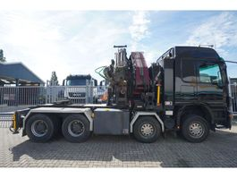 overige trekkers Mercedes Benz ACTROS 4151 8X4 WITH AMCO - VEBA VR 85 CRANE WITH JIB 2008