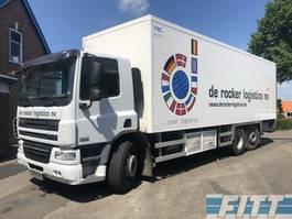 koelwagen vrachtwagen DAF FAN CF75/310 6X2 koeler Carrier met klep 2010