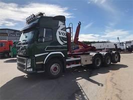 containersysteem vrachtwagen Volvo FM 500 Globetrotter 8x4 tridem 2015