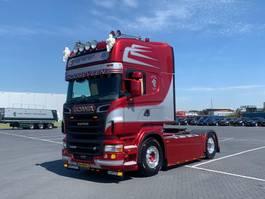 standaard trekker Scania R500 Topline 2xTanks / Leasing 2013