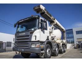 betonmixer vrachtwagen Scania P 380 ( + TAPIS HS ) 2009