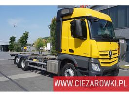 chassis cabine vrachtwagen Mercedes Benz Actros 2542 , E6 , 6x2 , BDF , retarder , chassis 7,2m , wheelba 2017