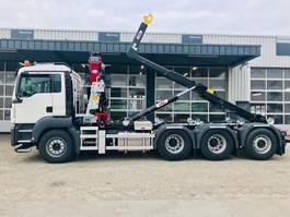 containersysteem vrachtwagen MAN TGS 35.430 8x4-4 BL kraan_haak 2020