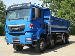 open laadbak vrachtwagen MAN TGS 35.440 8x8 EURO5 Muldenkipper TOP