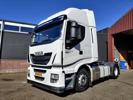 standaard trekker Iveco STRALIS AS440S46 4x2 Euro6 - 2 tanks - NL truck 2015