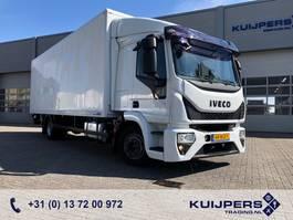 bakwagen vrachtwagen > 7.5 t Iveco Eurocargo 120E 210 E6 / Box / Loadlift / 215 dkm!  APK TUV 2016
