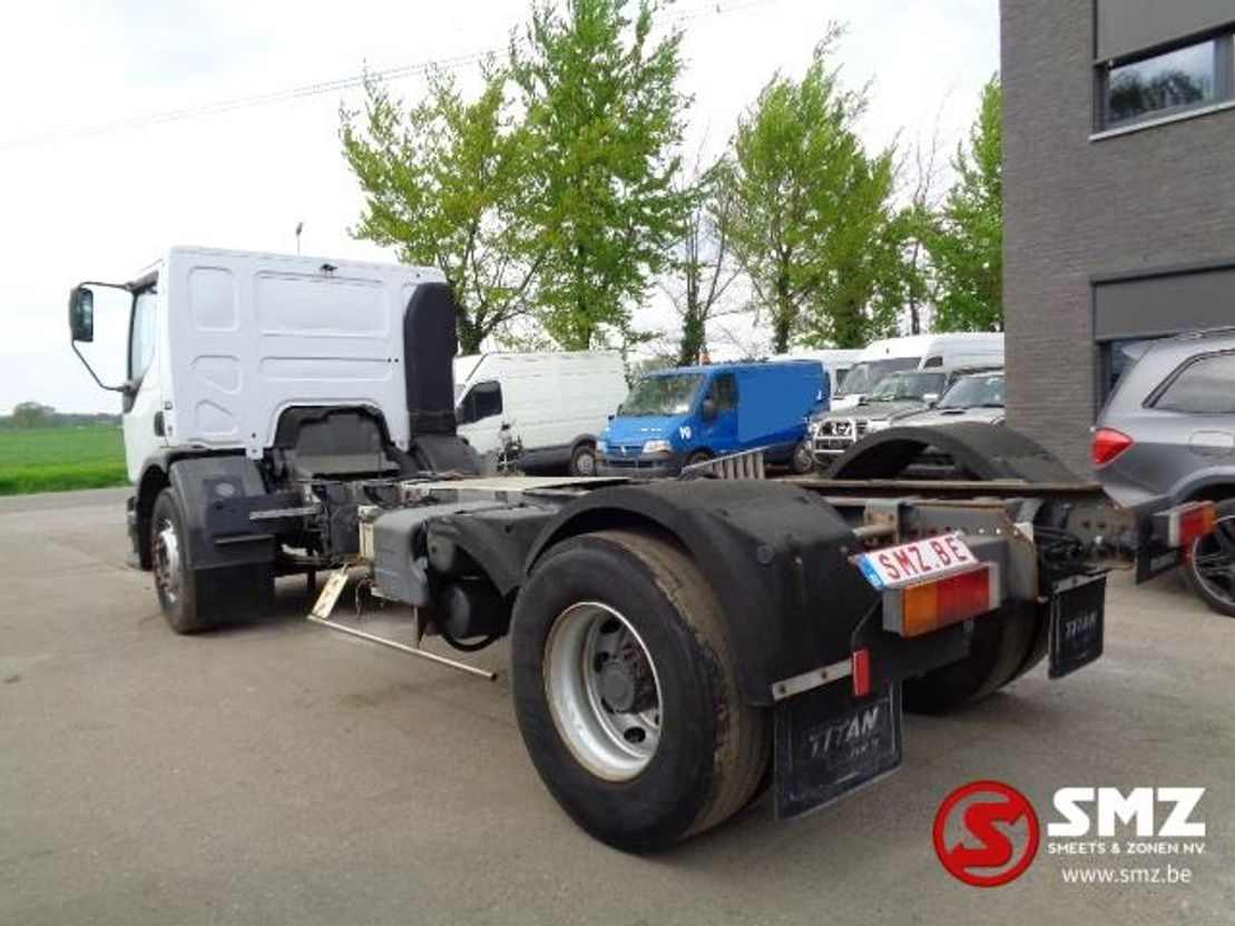 chassis cabine vrachtwagen Renault Premium 270 lames /steel Chassis 70000 km 2003