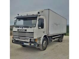 bakwagen vrachtwagen > 7.5 t Scania P 93M 220 retarder spring / spring left hand drive. 1991