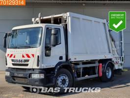 vuilniswagen vrachtwagen Iveco Eurocargo ML190EL25 4X2 Retarder EEV Faun Aufbau 2011