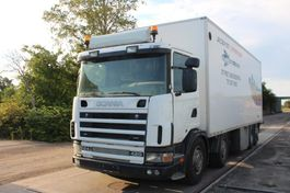 bakwagen vrachtwagen > 7.5 t Scania R 124 GB 8X2 WITH BOX. 2001
