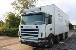 bakwagen vrachtwagen > 7.5 t Scania R 124 GB 8X2 WITH BOX.420 HK 2001