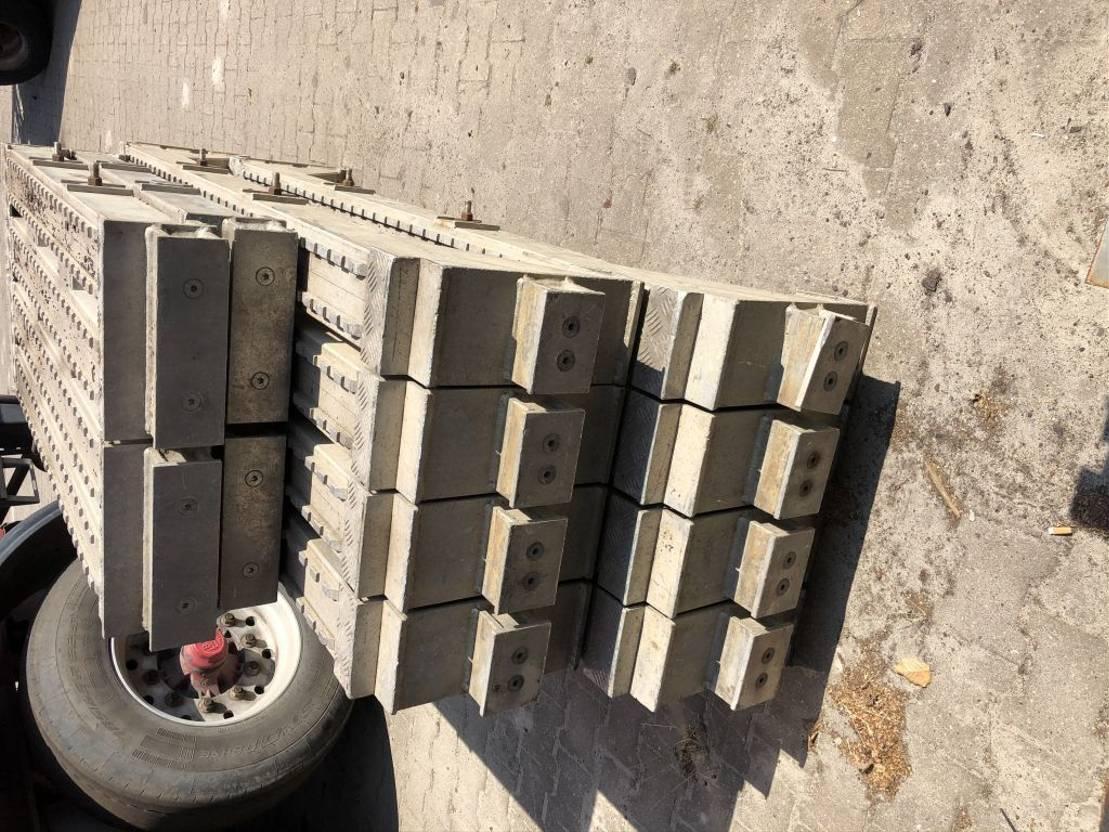 semi dieplader oplegger Diversen Uitneembare wielkuipen
