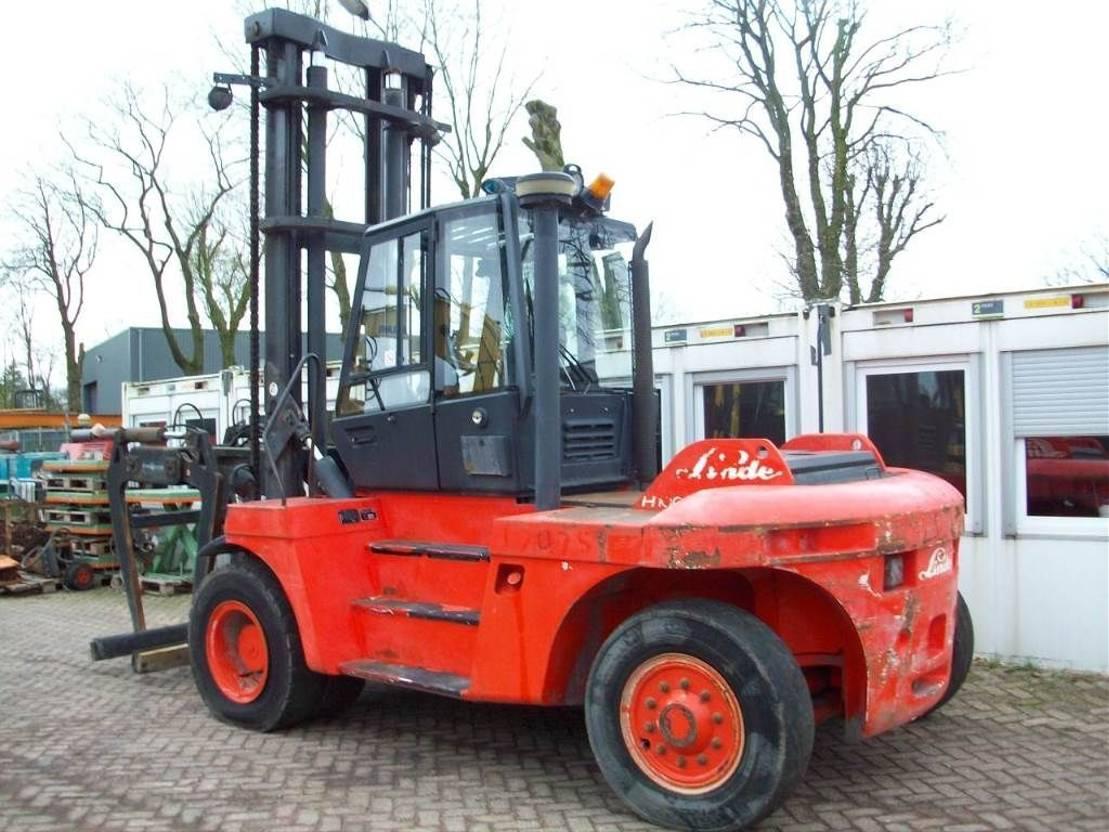 vorkheftruck Linde H 100 2001