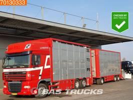 veewagen vrachtwagen DAF XF105.460 6X2 Berdex Cattle Transport Euro 5 2007
