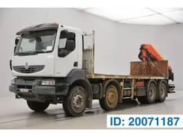 platform vrachtwagen Renault Kerax 410 DXi 2008