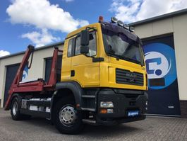 containersysteem vrachtwagen MAN TGX 18.310 4x2 Portaal-lift-Absetzkipper-Skiploader Nooteboom/Hyvalift 2005