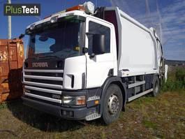vuilniswagen vrachtwagen Scania P94D 2001