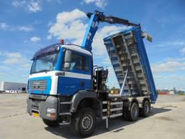 kipper vrachtwagen > 7.5 t MAN 26.400 6X6 2007