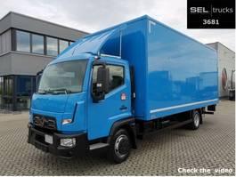 bakwagen vrachtwagen > 7.5 t Renault D 7.5 / 3 Sitze / Rückfahrkamera / Ladebordwand 2016