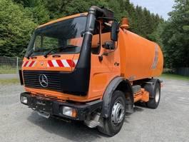 Veegmachine vrachtwagen Mercedes Benz 1414 K ** Schörling TSZ SIL Kehrmaschine ** 1988