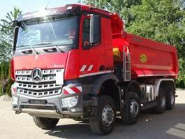 kipper vrachtwagen > 7.5 t Mercedes Benz AROCS 4142 8x6 EURO6 Muldenkipper TOP!