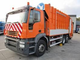 vuilniswagen vrachtwagen Iveco 270 Stralis 6X2 + Geesink Waste Collector 2005