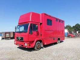 bakwagen vrachtwagen > 7.5 t MAN 8.163 4X2 WITH BOX. 1994