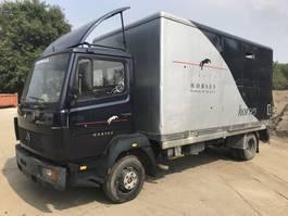 bakwagen vrachtwagen > 7.5 t Mercedes Benz 814 **6CYL*FULL STEEL** 1985