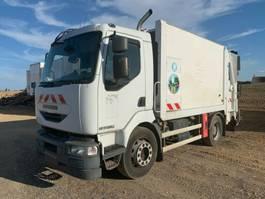 vuilniswagen vrachtwagen Renault Midlum 220 Müllwagen Semat Aufbau Garbage Truck