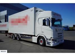 bakwagen vrachtwagen > 7.5 t Scania R500 Ekeri box, 2 temp zones with lift NICE EXAMPL 2019