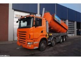 kolkenzuiger vrachtwagen Scania R 480 10x4 Kaiser zuig/spoelopbouw 2007