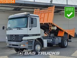 kipper vrachtwagen > 7.5 t Mercedes Benz Actros 1831 LS 4X2 Manual Hydraulik Big-Axle 1997